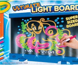 Crayola Ultimate Lightboard Featured