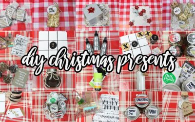 10 DIY Christmas Gifts People Will LOVE + GIVEAWAY!!