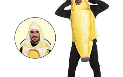 Spooktacular Creations Realistic Banana Costume for Adults