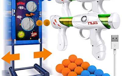 Kaufam Gun Toy Gift for Boys with Moving Shooting Target